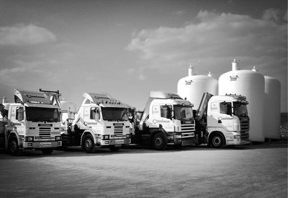Service logistique Sodipia pour cuve de stockage en fibre de verre